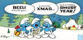 Beeli Smurfs you... a Smurfy Xmas... and a happy Smurf Year!