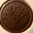 Coins - the Netherlands - Netherlands ½ cent 1916