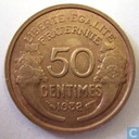 Coins - France - France 50 centimes 1932 (9 and 2 closed)