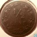 Coins - the Netherlands - Netherlands ½ cent 1891
