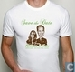 T-shirt Save the date William & Kate
