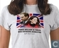 T-shirt huwelijk William & Kate