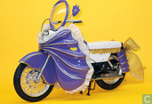 Custom Batgirl Motorcycle