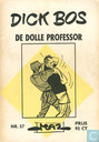 Strips - Dick Bos - De dolle professor