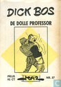 Comics - Dick Bos - De dolle professor