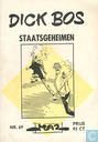 Bandes dessinées - Dick Bos - Staatsgeheimen
