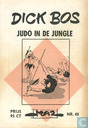 Bandes dessinées - Dick Bos - Judo in de jungle