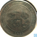 Coins - the Netherlands - Netherlands 1 cent 1902 (mint mark far away)