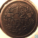 Coins - the Netherlands - Netherlands ½ cent 1934