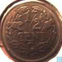 Coins - the Netherlands - Netherlands ½ cent 1937