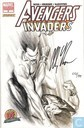 Avengers / Invaders # 3 - Dynamic Forces signed variant