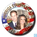 America congratulates Kate & Wills