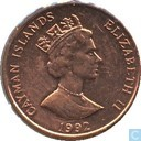 Cayman Islands 1 Cent 1992