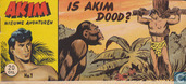 Comic Books - Akim - Is Akim dood?