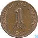 Trinidad and Tobago 1 cent 1968
