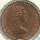 Man 2 new pence 1971