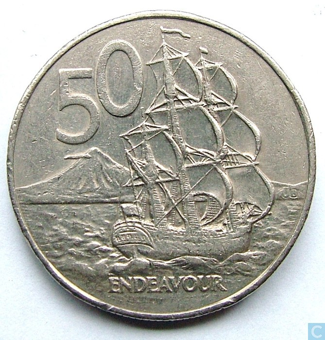 new zealand 50 cent coin value