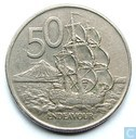 Coins - New Zealand - New Zealand 50 cents 1988