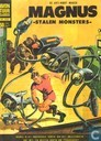 Bandes dessinées - Captain Johner - Stalen monsters