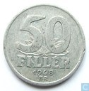 Hungary 50 fillér 1968