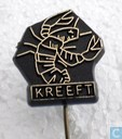 Kreeft [gold on black]