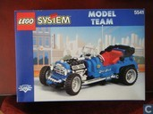 Lego 5541 Blue Fury (10151 Hot Rod)