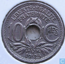 France 10 centimes 1925