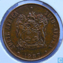 South Africa 2 cents 1987