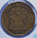 South Africa 50 cents 1997