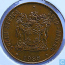 South Africa 2 cents 1988