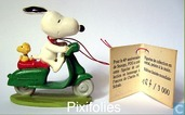 snoopy en scooter