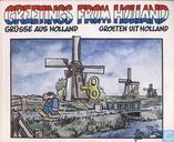 Greetings from Holland - Grüsse aus Holland - Groeten uit Holland