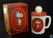 snoopy champoo liquid soap mug rood