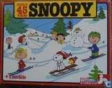 Snoopy aux sports d'hiver