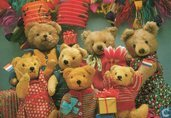 """The Teddies - Party Teds (01) """"Congratualations Ted"""""""