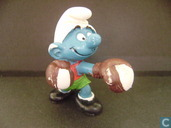 Boxing Smurf