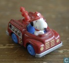 Snoopy Fire Engine