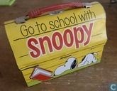 Go to school with Snoopy