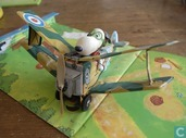 Snoopy Skediddler and his sopwith camel