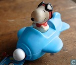 Snoopy Aeroplane bubble bath