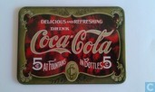 Plaatje Coca Cola 'Delicious and Refreshing'