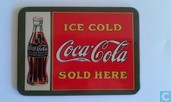 Plaatje Coca Cola 'Ice Cold, Sold Here'