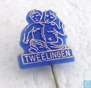 Tweelingen [gold on blue]