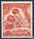 Postage Stamps - Berlin - Day Stamp