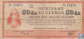 Suriname 50 Cent 1942