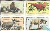 1972 Wildlife conservation (USA 588)
