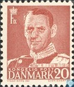 Postage Stamps - Denmark - 20 Red