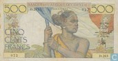 French West Africa 500 Francs