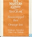 Sinaasappel thee   Orange tea