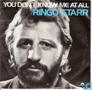 Platen en CD's - Starkey, Richard - You don't know me at all